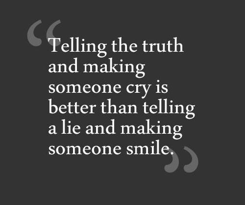 The Effects of Lying